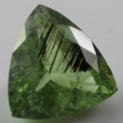 Peridot with Ludwigite